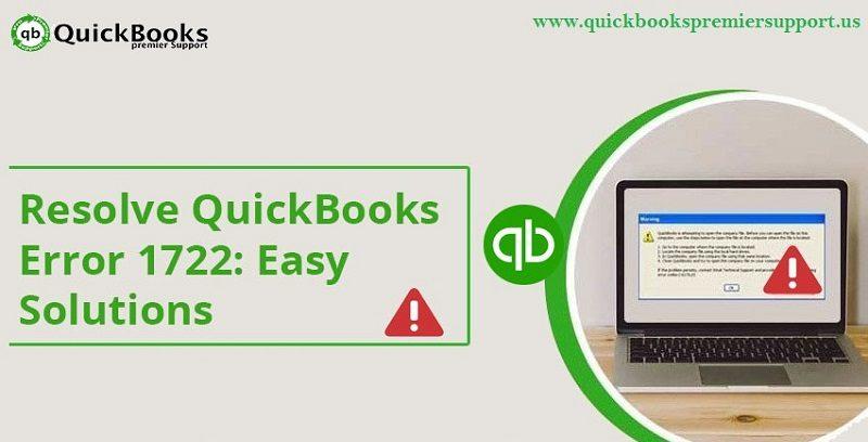 Best Ways to Resolve QuickBooks Error 1722 (System Install Error) - Featured Image