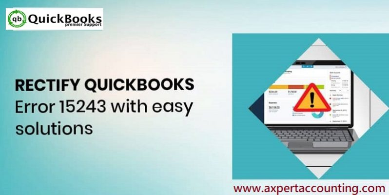 How to Fix QuickBooks Payroll Update Error 15243 - Featured Image